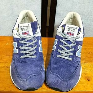 New Balance 576 suede sneakers 9